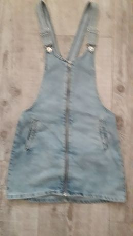 Spódnica na szelkach cropp
