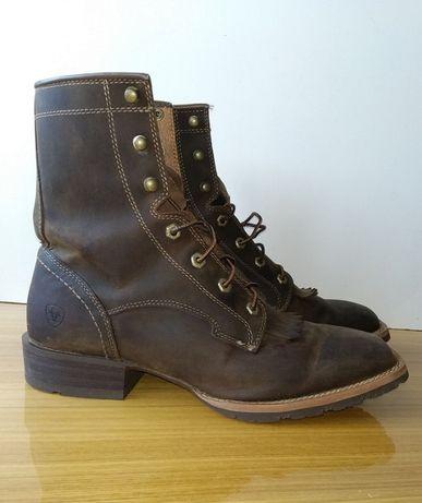 Ботинки Ariat (США) стиль Western, б/у, кожа, размер EUR 44,5, US11