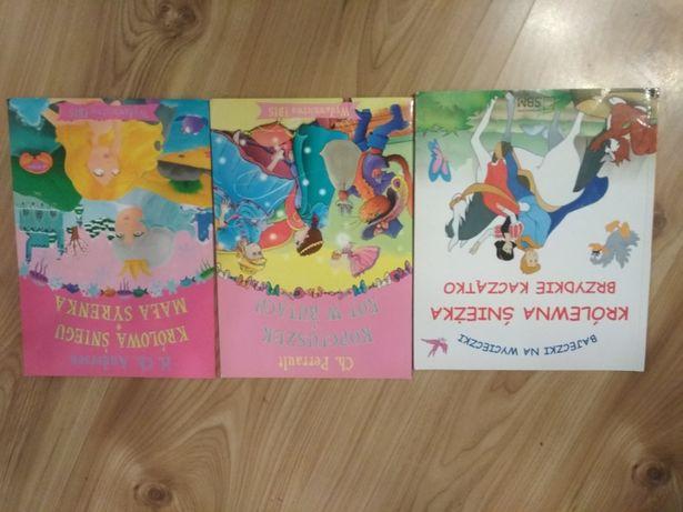 Zestaw bajek dla dziewczynki - 3 książeczki