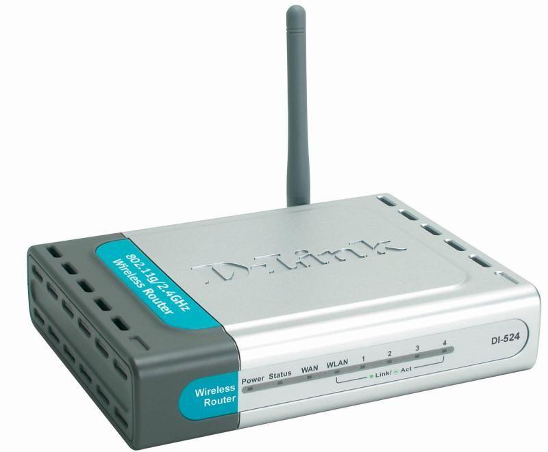 Wi-Fi Роутер D-Link DI-524 Киев - изображение 1