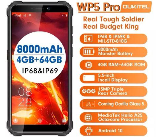 Oukitel WP5 Pro 4gb-ram 64gb-rom à prova de água novos com garantia