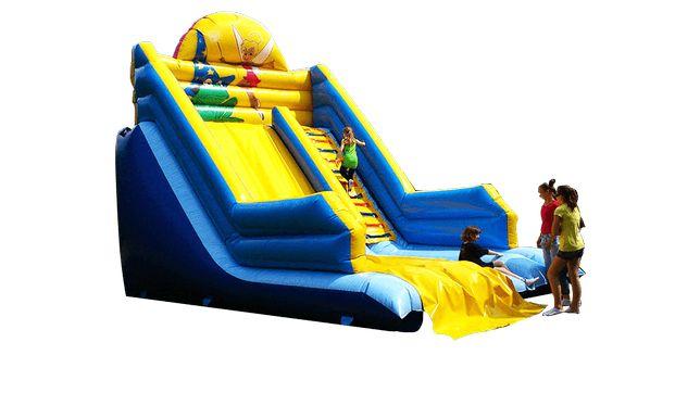 Dmuchane atrakcje dla dzieci - dmuchańce - zjeżdżalnia - zamek