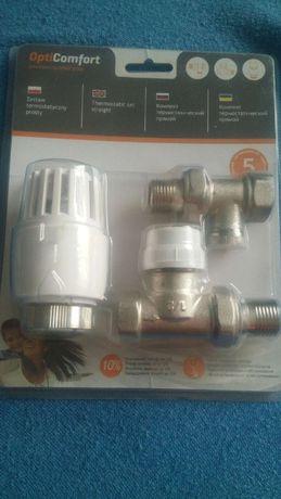 Zestaw termostatyczny OptiComfort prosty 1/2 4 sztuki