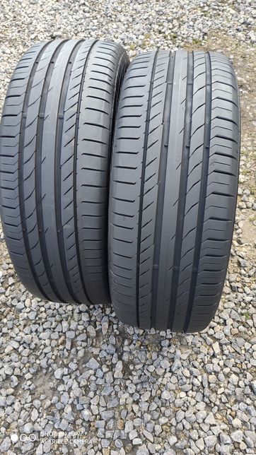 235/55r19 Continental ContiSportContact5 2018r 7mm PARA stan idealny