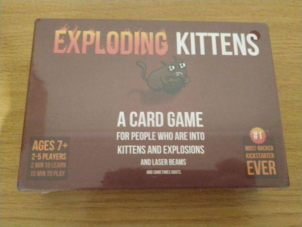 Exploding Kittens NOVO!!