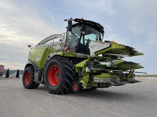 Koszenie kukurydzy Shredlage