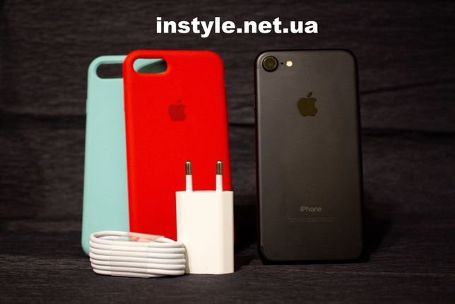 IPhone 7 32GB / 128GB Black Neverlock *Магазин*5/5C/5S/6/6+/6S/7/7+/8/