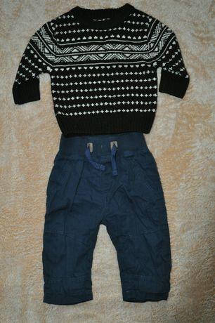 Тёплый набор,  штаны подкладка,  свитер