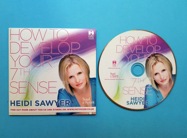 """CD Audiobook """"How to Develop Your 7th Sense"""" - Heidi Sawyer"""