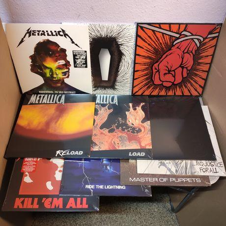 Metallica 10 Studio Albums SET ( Full Discography ) 10 LP / Винил / VL