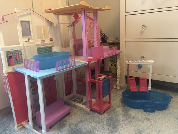 Domek dla Barbie firmy MATTEL jak Nowy