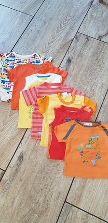 Komplet koszulek dla chłopca roz.3-6 miesięcy.