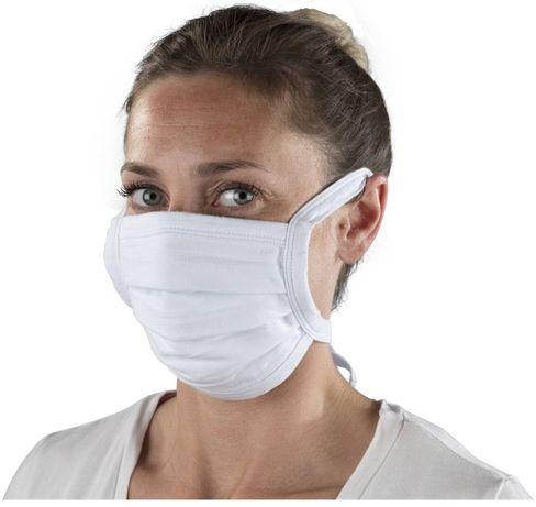 Maska tekstylna na usta i nos z bawełny, WYPRZEDAŻ