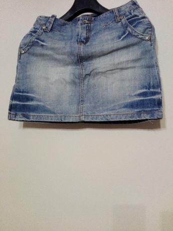 M jeansowa spódniczka