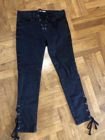 Jeansy spodnie rurki Mango S