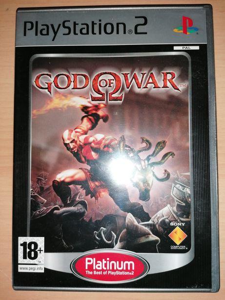 Jogos PS2 ( PlayStation 2 ) God of War (Como Novo)