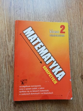 Matematyka Korepetycje podręcznik 2 klasa gimnazjum