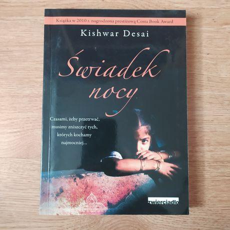 """Książka """"Świadek nocy"""" Kishwar Desai"""
