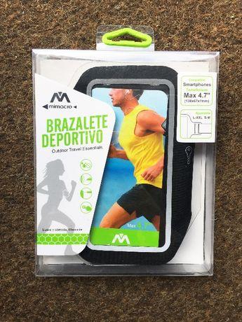 "Braçadeira para smartphone universal 4.7"" - Armband - Desporto/corrida"