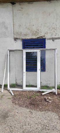 Метало пластиковая Балконная рама