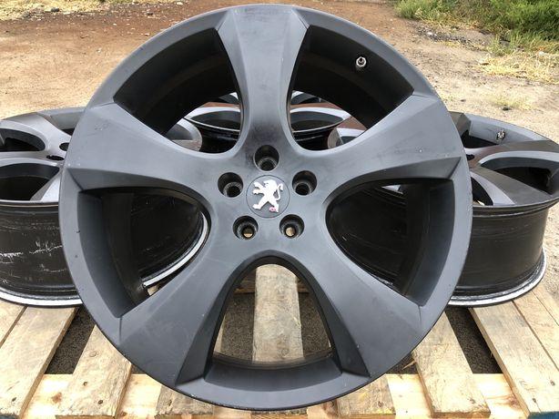 5x108 r20 Peugeot Irmsher Black Matt Диски литые оригинал