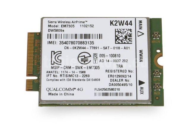 Modem moduł lte 4g EM7305 DW5809E Dell E5550