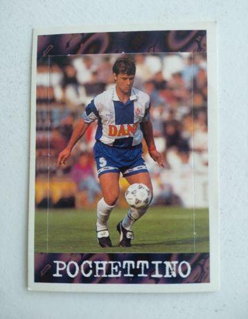 Conjunto de cartas de antigos jogadores de futebol