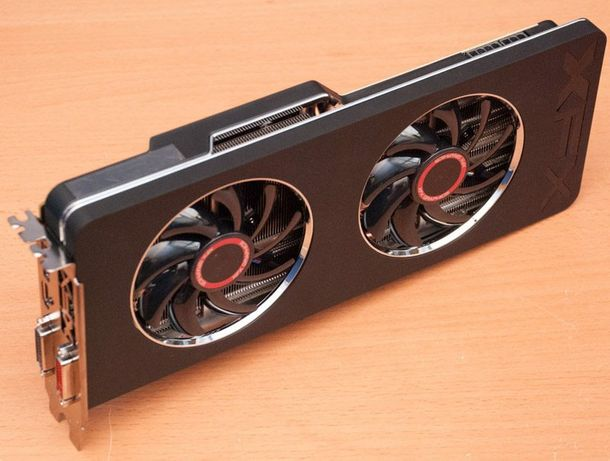 Видеокарта AMD R9 280X XFX Black edition 7000 рублей