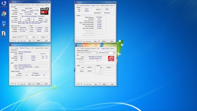 Компьютер Asus A55BM-E / AMD A4-4020 / AMD Radeon R7 250 (в сборе)