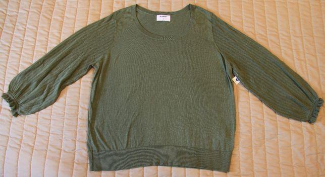 Bluzka zielona, rozmiar XL nowa