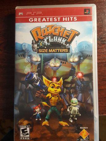 Rachet Clank/size matters/ PSP