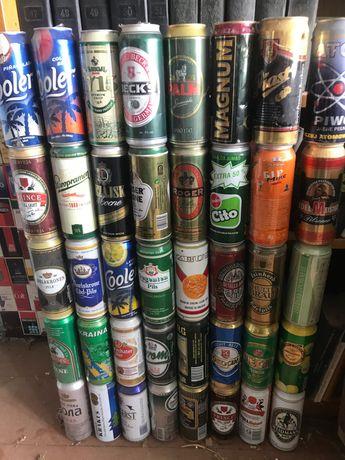 Банки з пива коли 195 штук