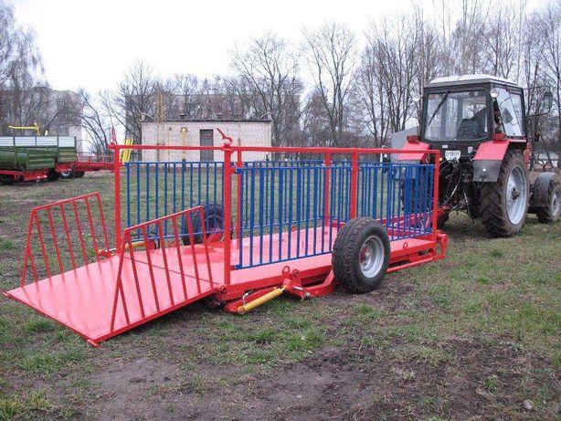 Прицеп трейлер для перевозки свиней, животных ТС-3.