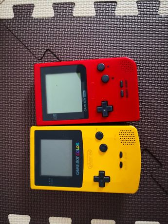 Gameboy color, game boy pocket