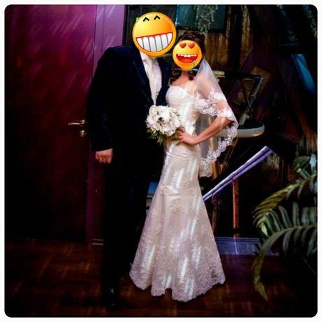 Продам шикарное и очень нежное свадебное платье