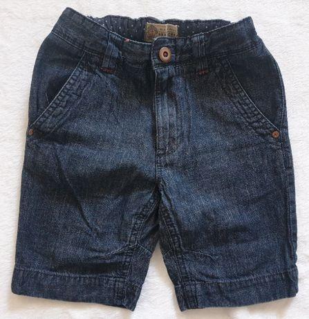 Next krótkie spodenki jeans 7lat 122cm