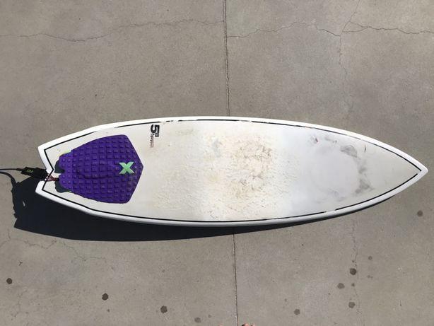 Prancha surf Santa Cruz - Ozzie Wright model - epoxy 5'8''
