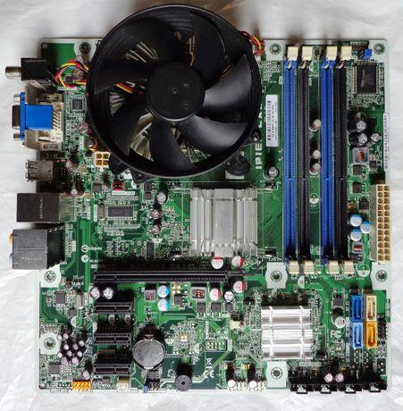 Комплект 4-e ядра Intel Q9400 (DDR3)