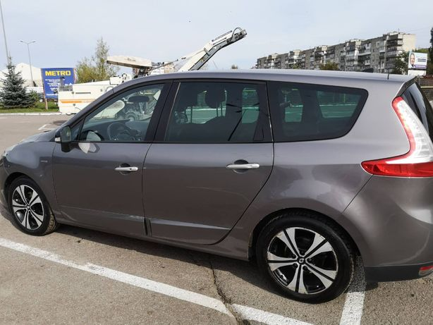 Авто Renault Grand Scenic 2011р BOSE 7-ми місна