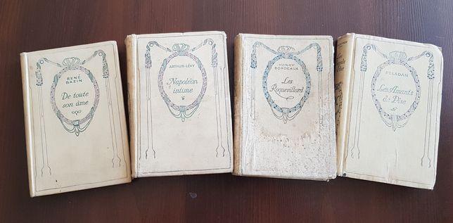 Четыре книги на французском языке.