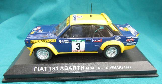 Miniatura de rally da Altaya na escala 1/43. Markku Alen