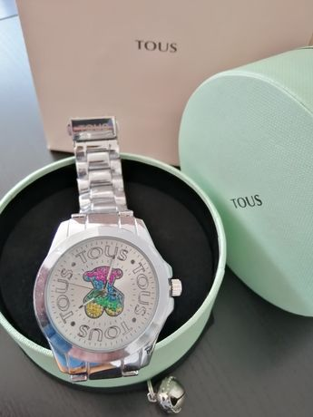 Relógio Tous em aço prateado - Novo - Gucci Dior Chanel Herrera one