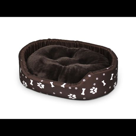 Legowisko dla psa kota z poduszką Premium M-XXL Brąz