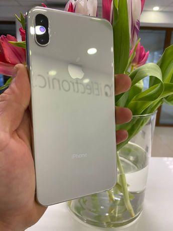 iPhone XS Max Silver 512 GB с гарантией до 2х Лет! РАССРОЧКА ПОД 0 %