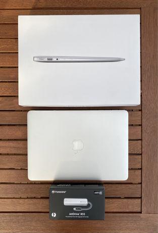 Macbook Air 2015, Intel i5, 8GB RAM, 128GB.