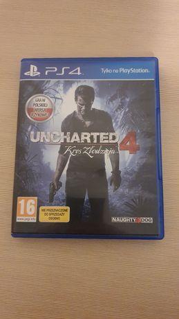 Uncharted 4 PL gra na Ps4 Świecie