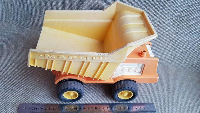 Машинка. Игрушка, машинка, самосвал Малыш, СССР