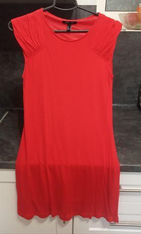 Платье Mango красного цвета