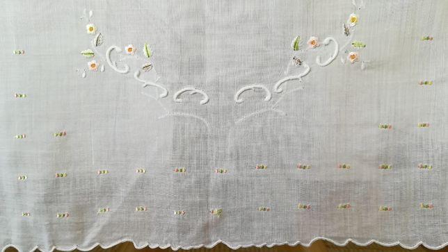 Toalha bordado da Madeira em cambraia, antiga