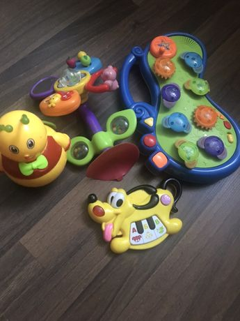 Музыкальные игрушки+ неваляшка